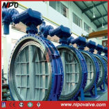 Flanged Bi-Direction Triple Eccentric Butterfly Valve