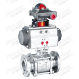 Pneumatic Flange End Vacuum Ball Valve