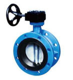 Flanged Double Eccentric/Center Line Butterfly Valve