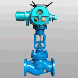 CE Proved Pneumatic Operated Bellows Seal Globe Valve