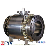 China Best API 6D 3 Piece Flange Ball Valve