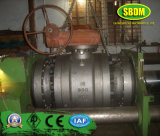 API 6D Carbon Steel High Pressure Flanged Trunnion Mounted Ball Valve