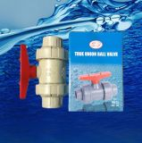 Plastic PVC True Union Ball Valve for Water Supply with ISO9001 Sf1005