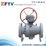 API 6D Flanged End Stainless Steel Floating Ball Valve