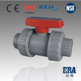 PVC Double Union Ball Valve for Hot Water Supply (UBC01)
