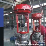 Cast Carbon or Stainless Steel Flow or Pressure Globe Control Valve