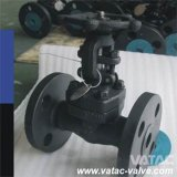 Thread, Screw and Flanged Forged Gate Valve with NPT, BPS, RF or Rtj Ends