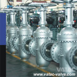 Manual Operated Wcb/Lcb/Wc6/CF8/CF8m Double Expanding Gate Valve with Flange
