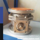 S. S Flanged Ball Valve