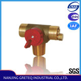 QF-8T Nature Gas Angle Cylinder Ball Valve in China Original