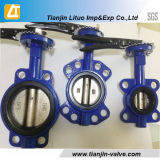 Wafer and Flange and Lugged EPDM Butterfly Valve High Quality Dn Factory