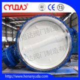 Dn2200 88'' Water Industrial Butterfly Valve Factory in China