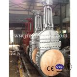 Gear Operated Big Size Flange End Gate Valve