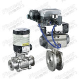 Floating/ Trunnion Motorized Control Ball Valve