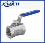 1000wog 1PC Stainless Steel Ball Valve