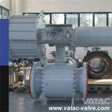 API 6D Forged Steel Pneumatic Trunnion Ball Valve