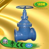 DIN Cast Steel Gate Valve for Inside Screw Non-Rising Stem