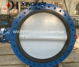 Large Size Double Flanged Butterfly Valve (U type, EPDM seat, short faced)