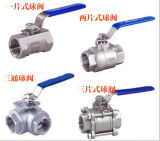 Stainless Steel Industrial Valves, Ball Valves (ATC-312)