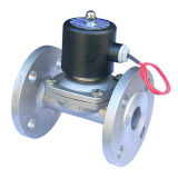 2wb Series Stainless Steel Solenoid Valve with Flange