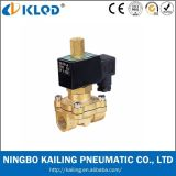 24V Brass Normally Open Solenoid Valve for Water (2WC200-20)