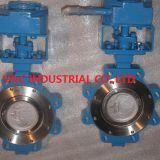High Pressure Double Offset Butterfly Valve with Lug Type