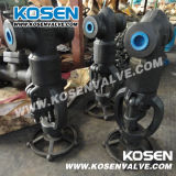 Forged Steel Threaded End Pressure Sealed Globe Valves