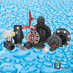 UPVC & CPVC Butterfly Valve for Water Supply