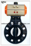 Electrical PVC Butterfly Valve