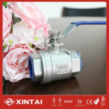 Plastic Handle Cover PTFE Seal Thread 2PC Ball Valve
