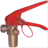 Valve for CO2 Fire Extinguisher